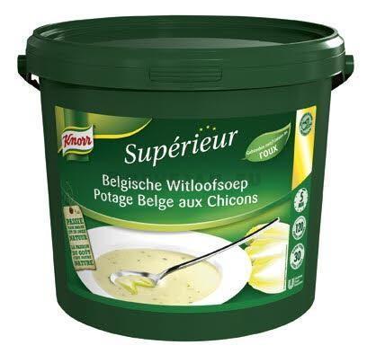 Knorr Supérieur Potage Belge aux Chicons 3kg