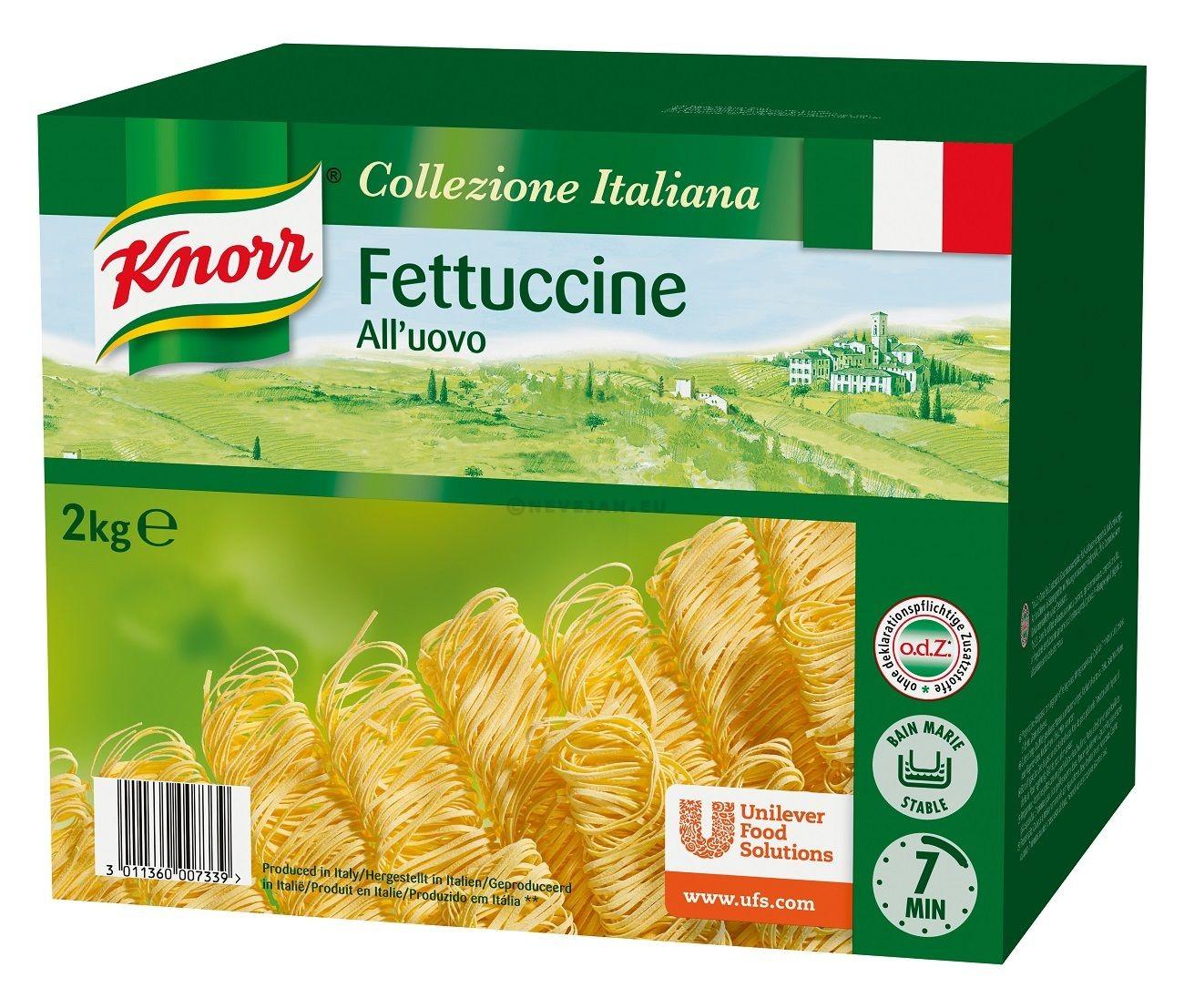 Knorr Pates Fettuccini All'Uovo 2kg Collezione Italiana