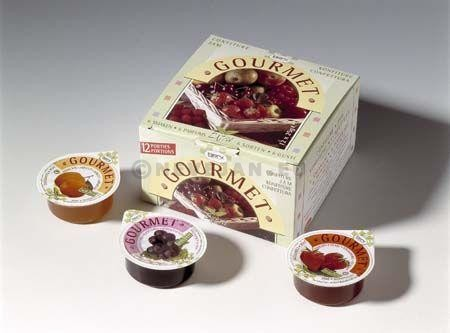 Portions confiture mélanges 50% 200x15gr Gourmet