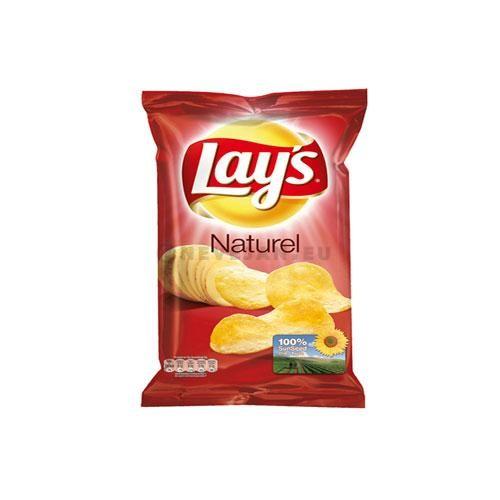 Lays Crispy Chips naturel sel 20x45gr