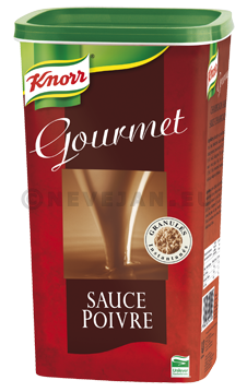 Knorr Gourmet sauce au poivre 950gr