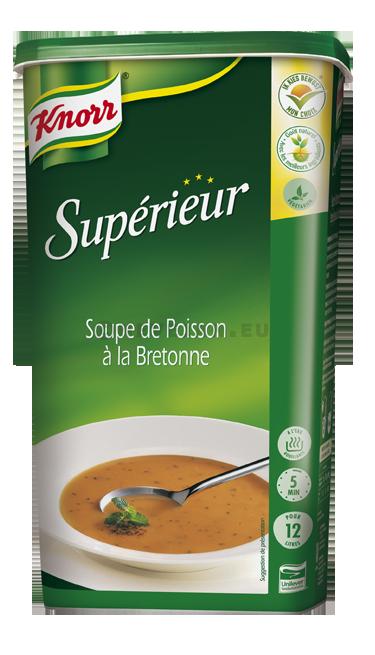 Knorr potage Superieur Soupe de Poisson à la Bretonne 1.1kg