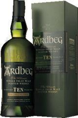Ardbeg 10 Ans d'Age 70cl 46% Islay Single Malt Whisky Ecosse