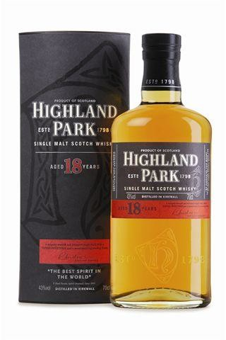 Highland Park 18 Ans d'Age 70cl 40% Orkney Islands Single Malt Whisky Ecosse