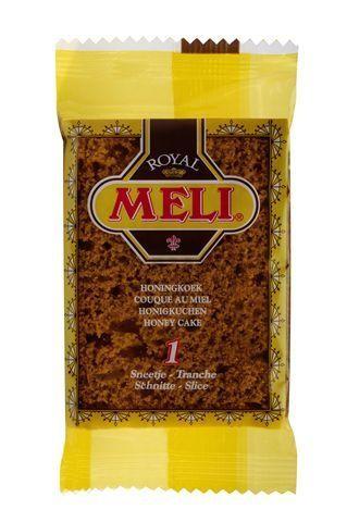 Meli pain d'epice - couque au miel 120x1pc emballé individuelle