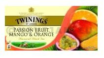 Thé Twinings Passion, Mango & Orange 25pc