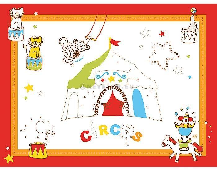 Sets de table papier Circus 30x40cm 250pc Duni