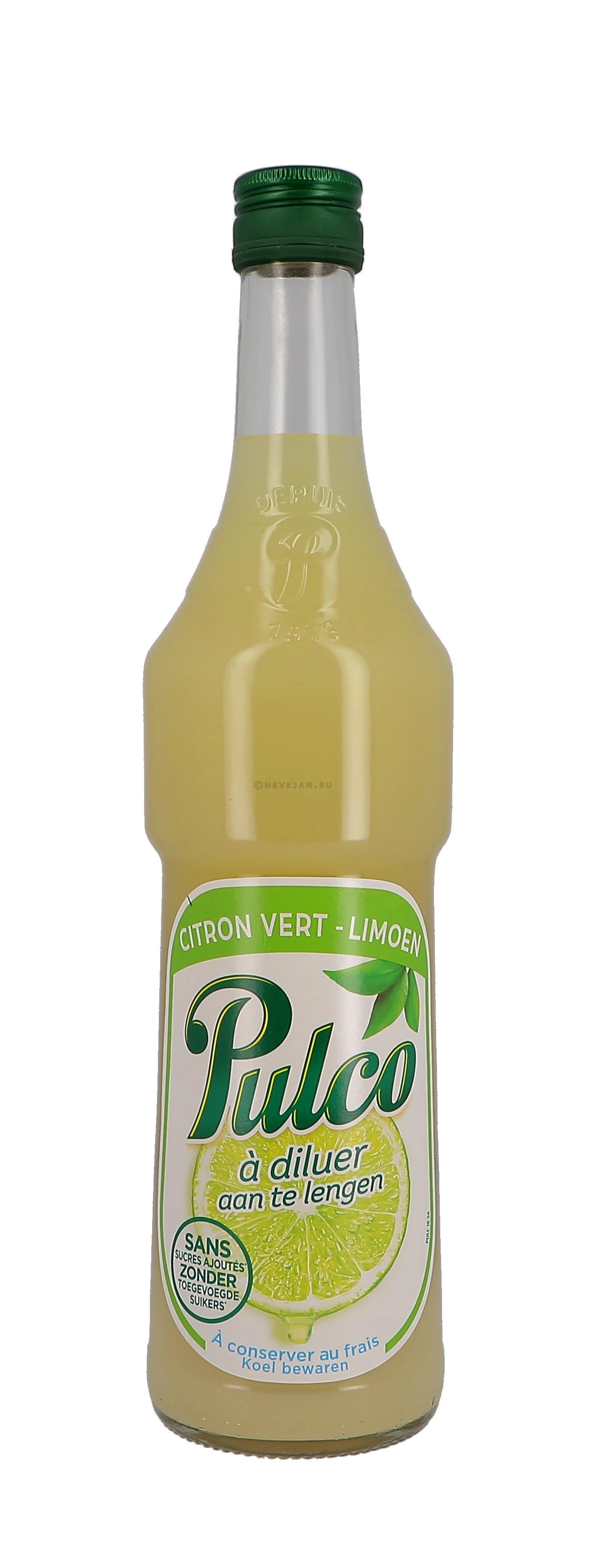 Pulco lemon citron vert 70cl 0%