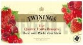 Thé Twinings Four Red Fruits 25pc 4 fruit rouge