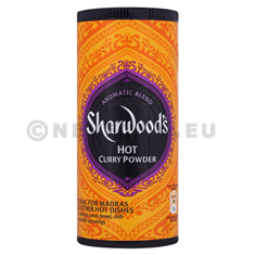 Hot Curry poudre Sharwood's 110gr curry Indiens