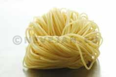 Spaghetti naturel rond Altoni verse pasta
