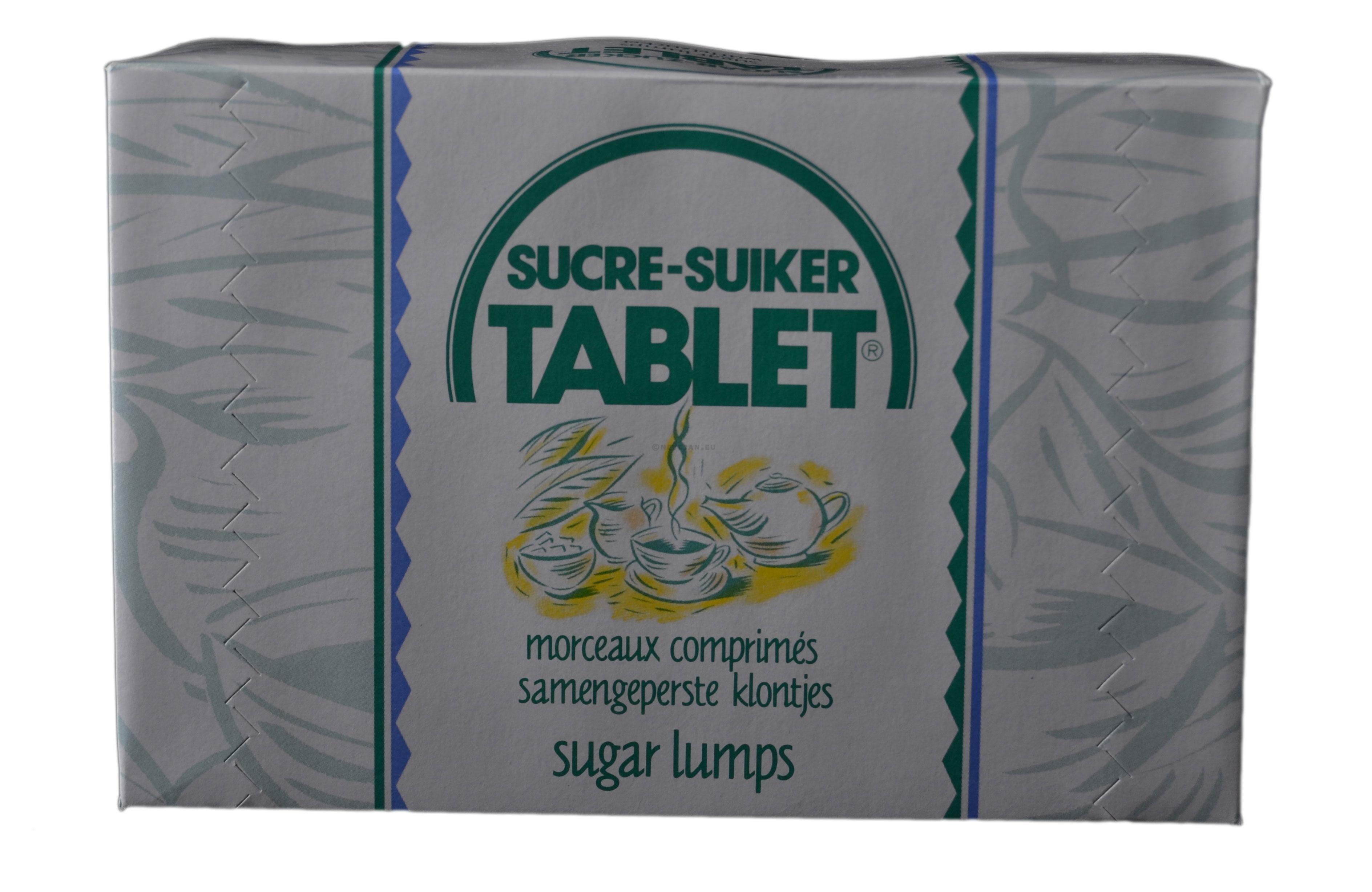 Sucre Tirlemont en morceaux doux 1kg