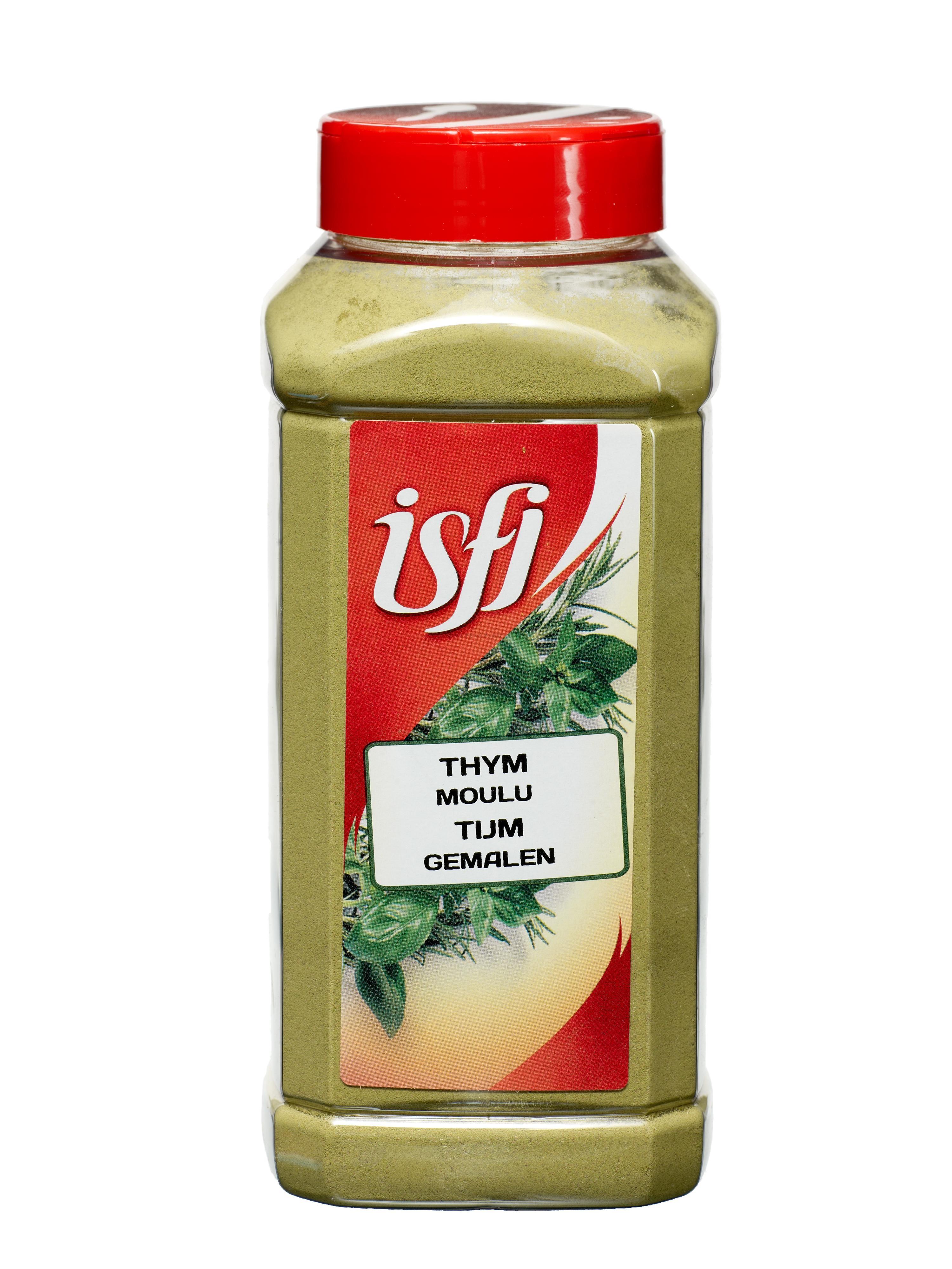 Epices Thym seché en poudre 350gr 1LP Isfi Spices
