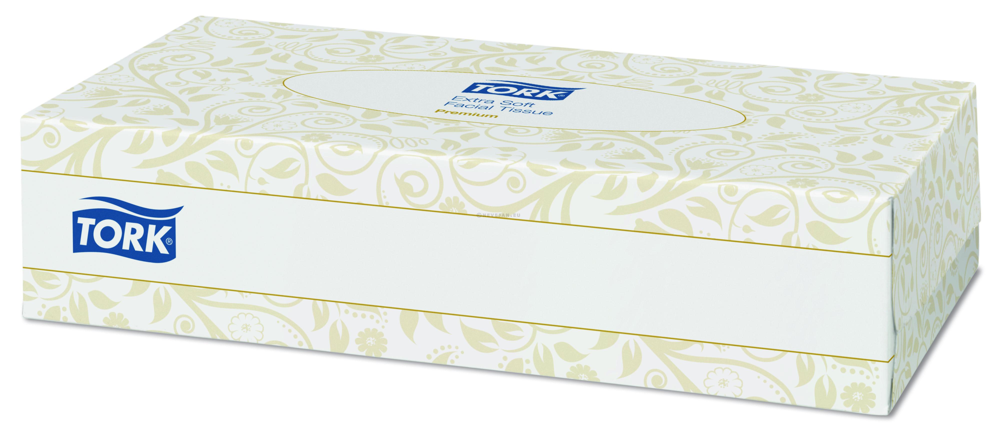 TORK mouchoirs papier Facial Tissues 100pc 140280