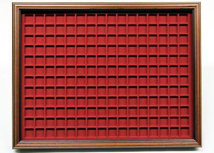 Vitrine pour plaques de muselets de champagne 192p Verre & Bois