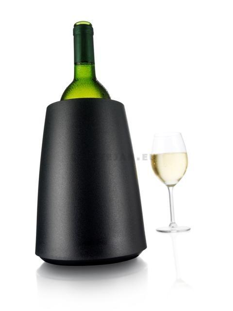 Rapid Ice Refroidisseur seau à vin Noir 1pc Vacu Vin