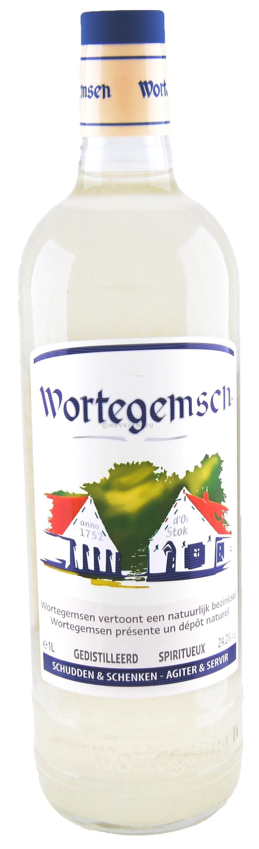 Wortegemsen citroenjenever 1L 24.2%