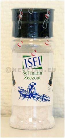 Salière Sel de mer 90gr moulin a sel 3pc Isfi