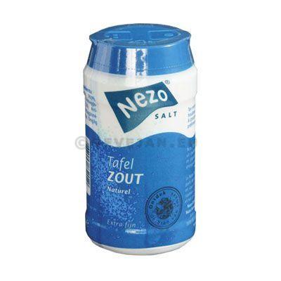 Salière boite plastique 125gr Nezo