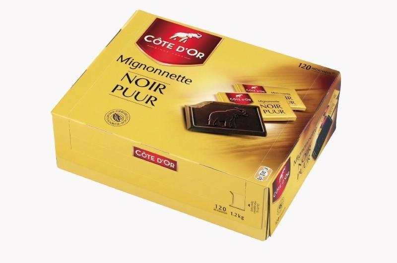 Cote d'Or Mignonettes Chocolat Noir 120pc Emballes Individuellement