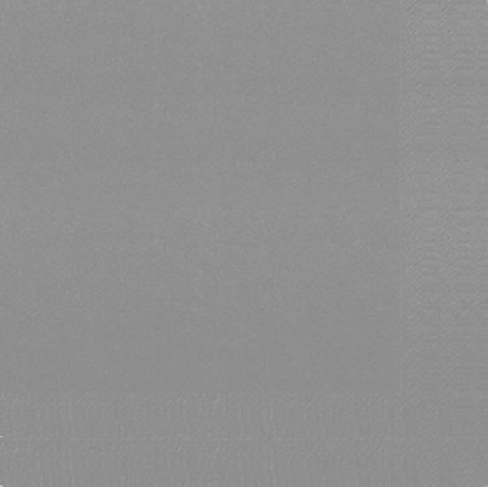 Serviette Duni 3plies gris 40x40cm 125pc