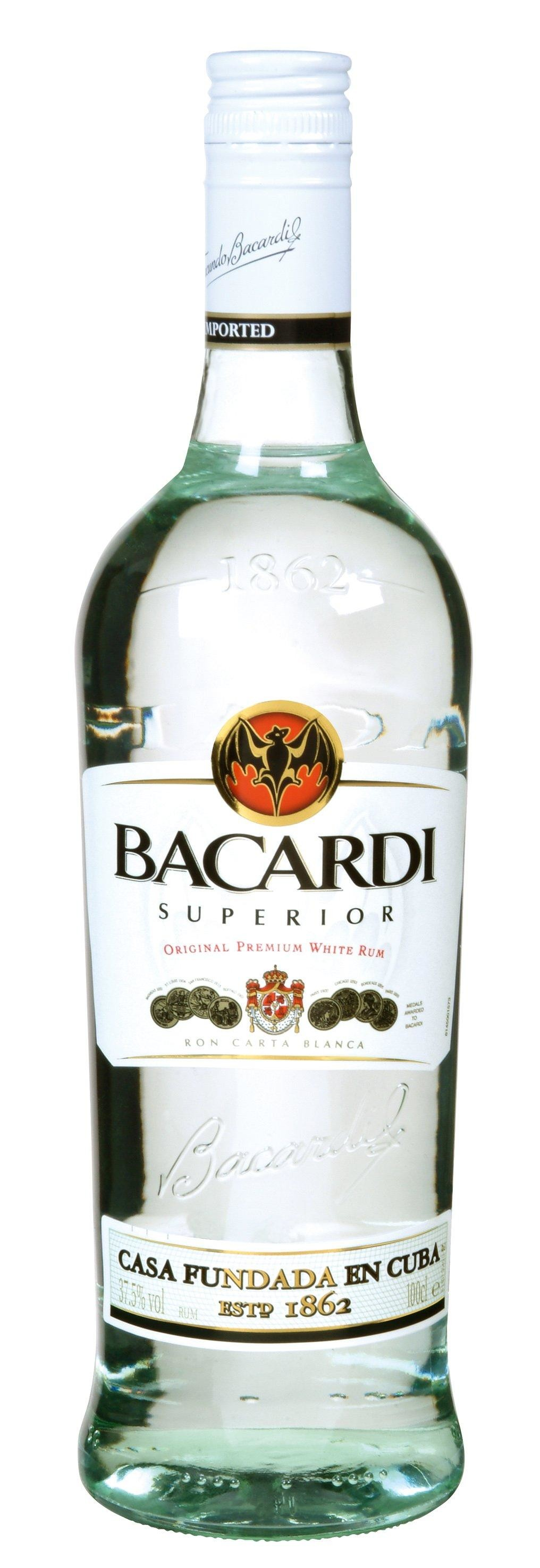 Rhum Bacardi Superior 3 Litre 37.5%