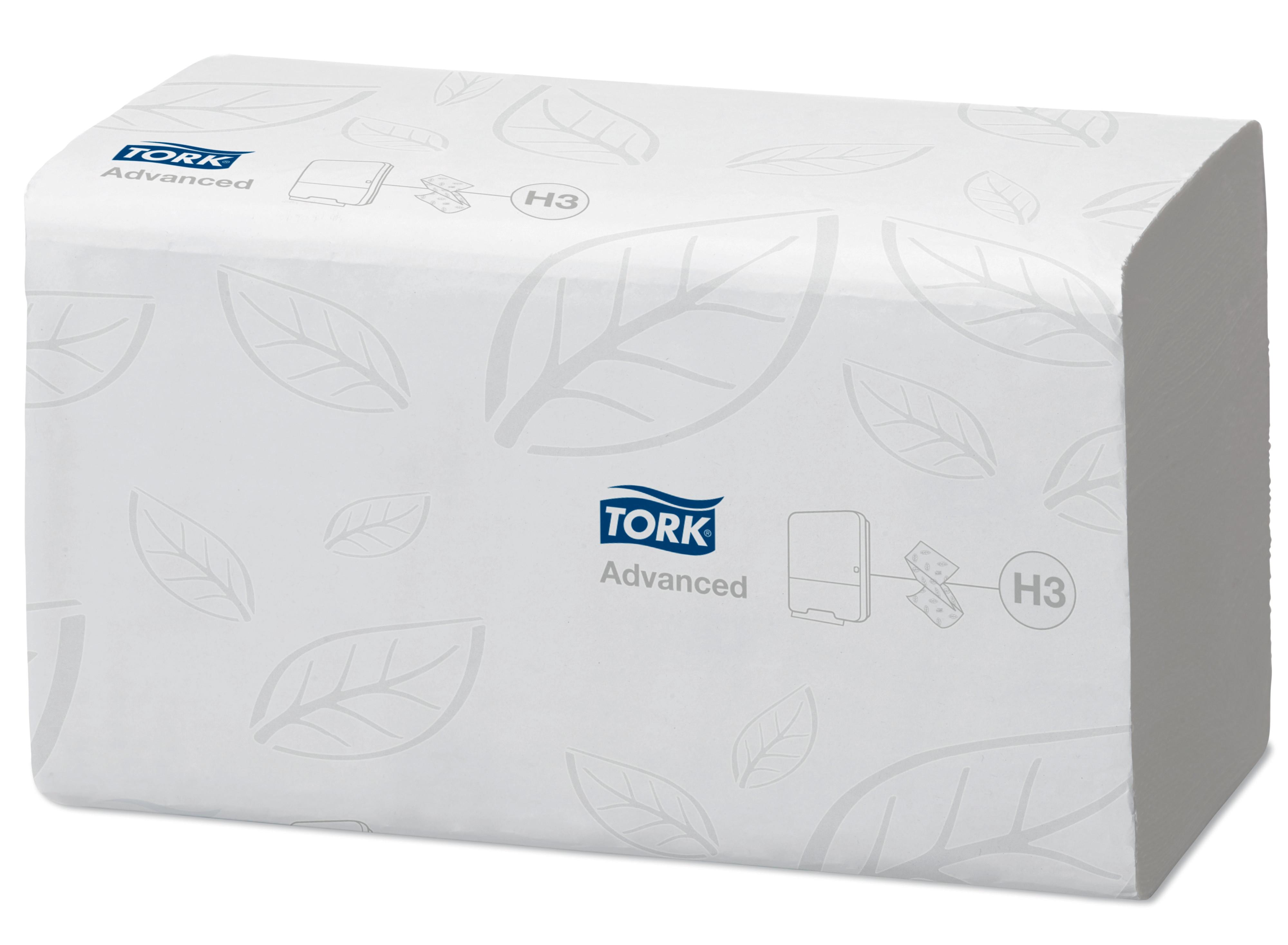 TORK Classic Plus Essuie-Mains pliés en V 2pl blanc 15x250pc 290163