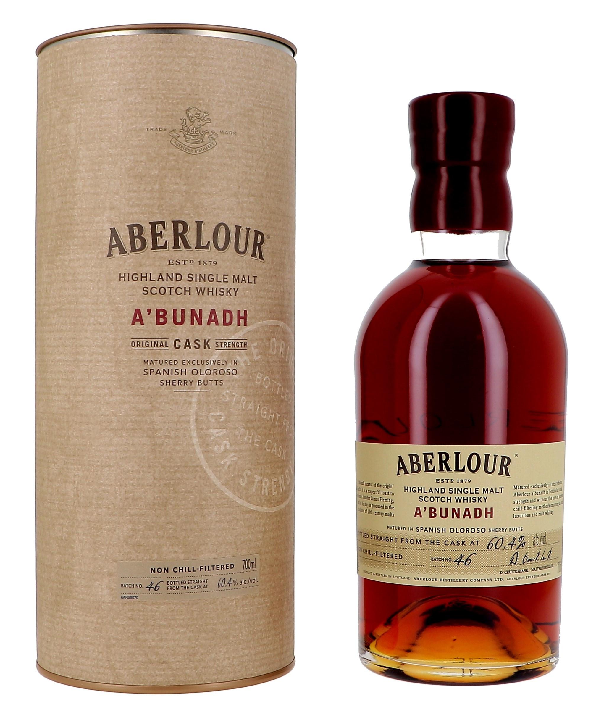 Aberlour A'Bunadh Cask Strenght 70cl 59.6% Highland Single Malt Scotch Whisky (Whisky)