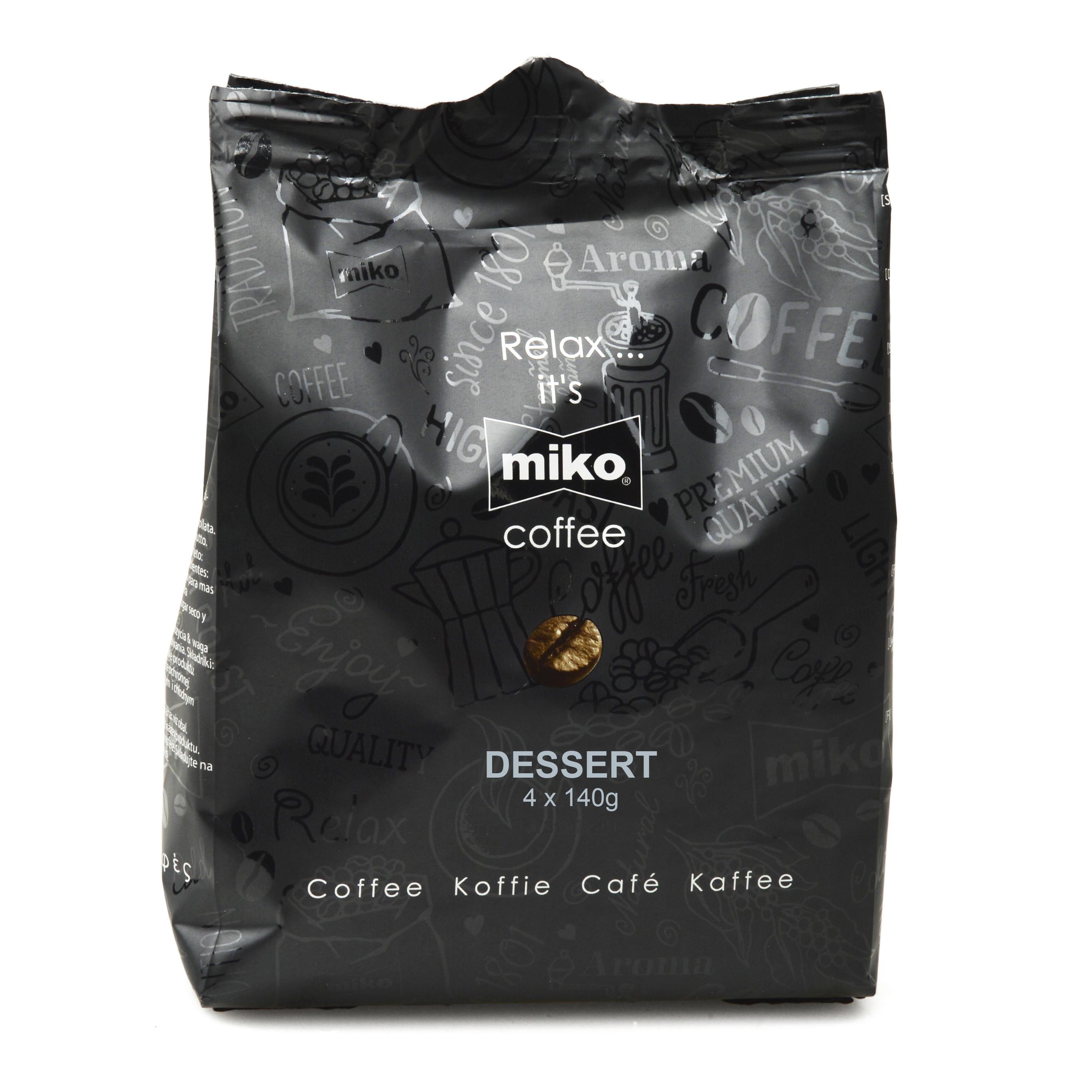 Pouch Miko 508 dessert 48x140gr Vending (Koffie)