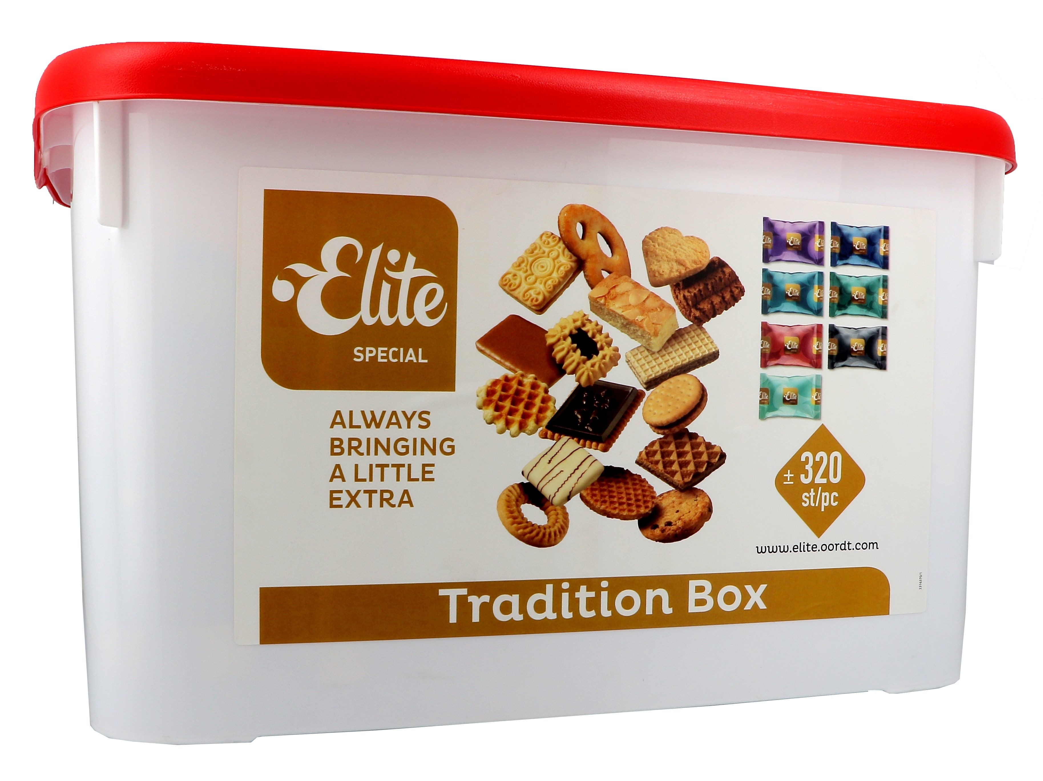 Elite Biscuits Tradition Box 320st