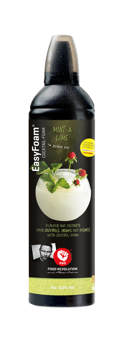 Cocktail EasyFoam Menthe - Citron Vert 400ml R&D Food Revolution