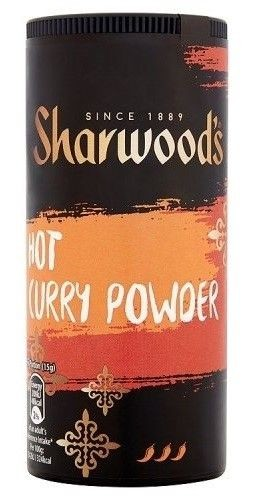 Hot Curry poudre Sharwood's 102gr curry Indiens