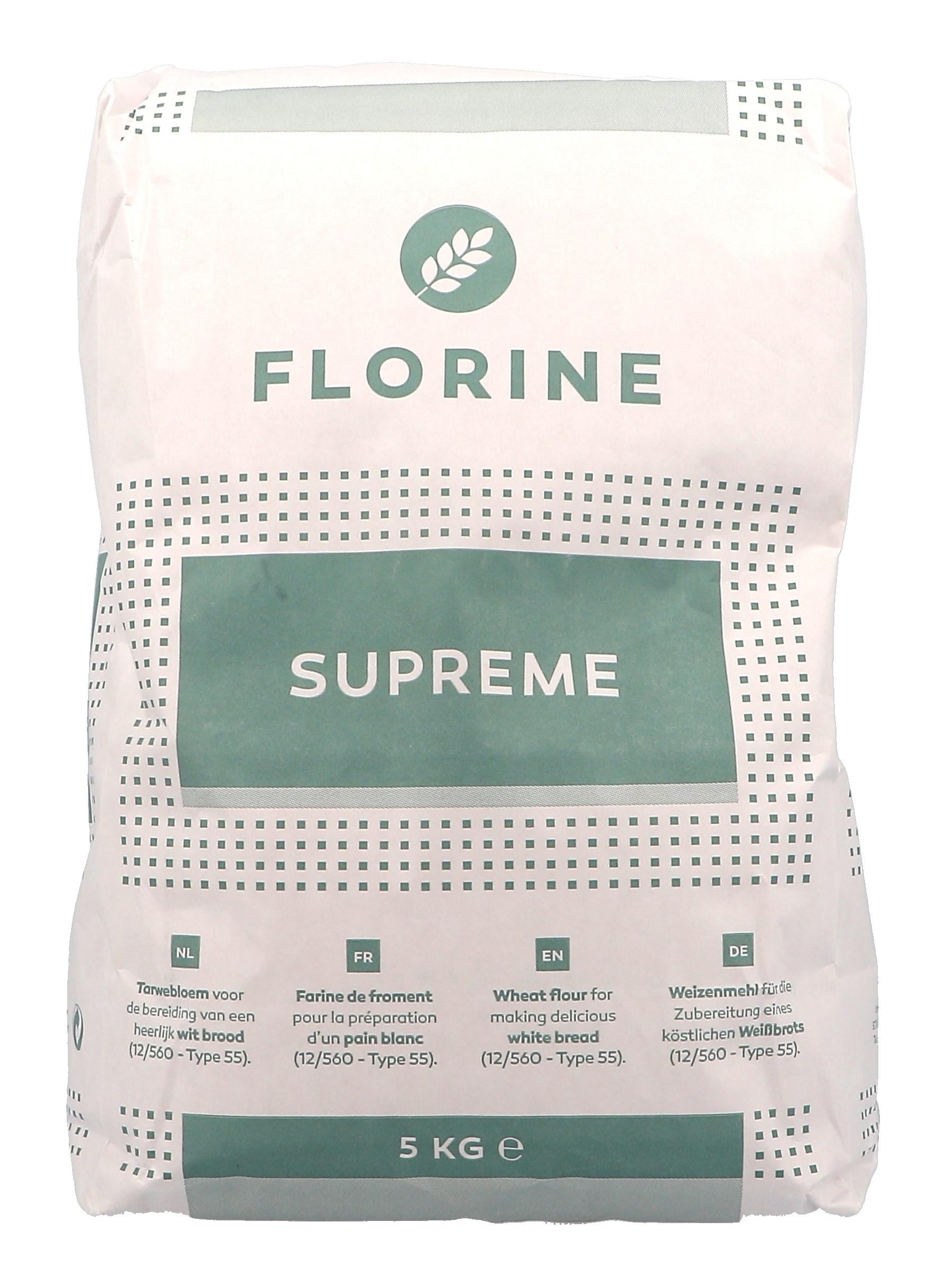 Florine Farine de Blé Supreme 5kg Dossche Mills (Default)
