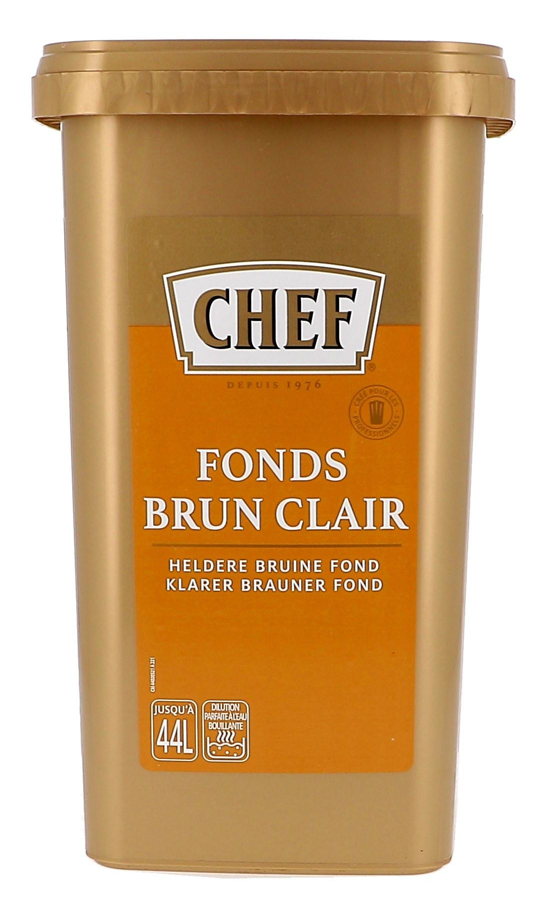 Chef fonds brun clair 880gr Nestlé Professional (Chef)