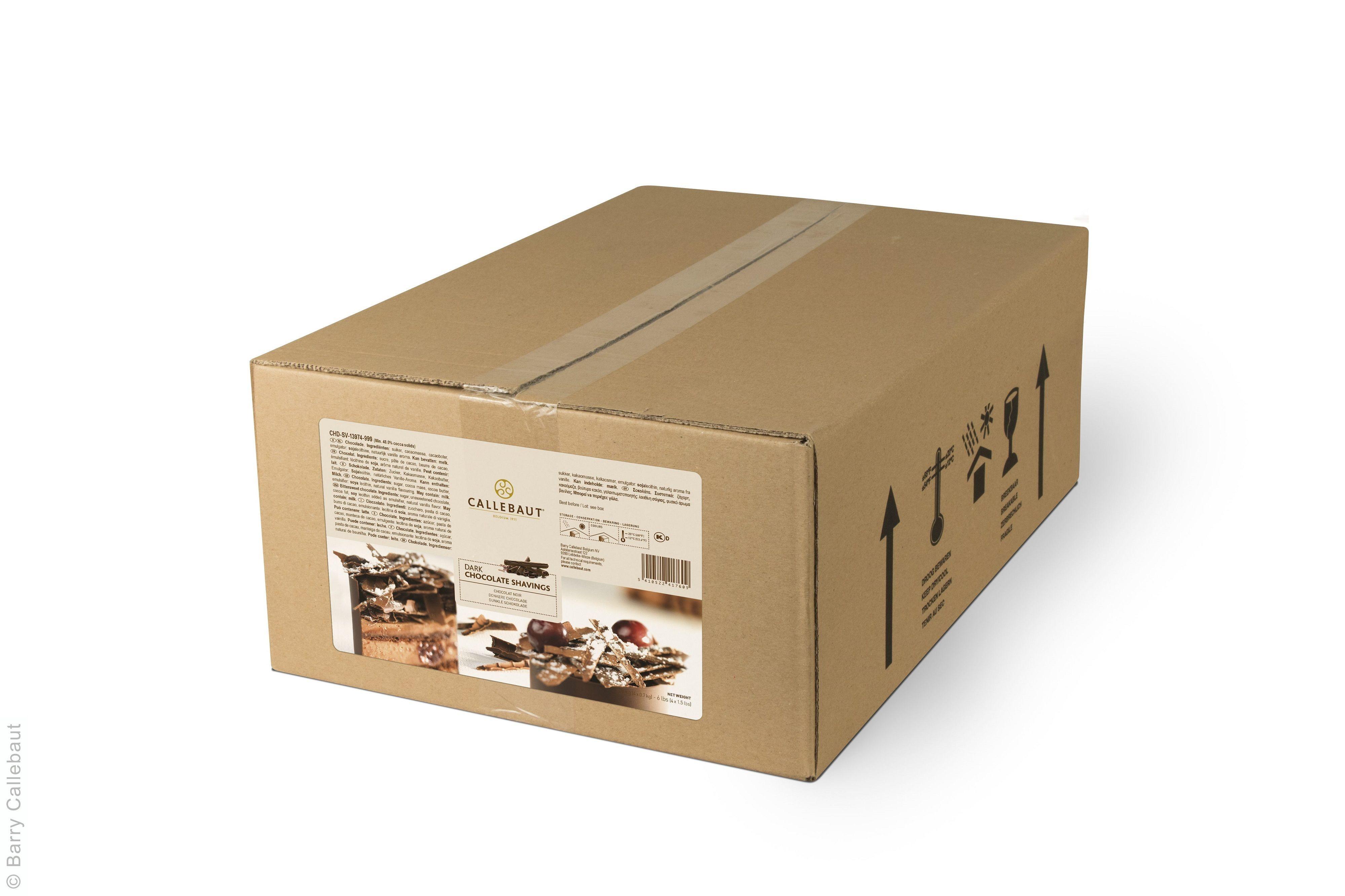 Eclats de chocolade fondant noir 2.5kg Callebaut