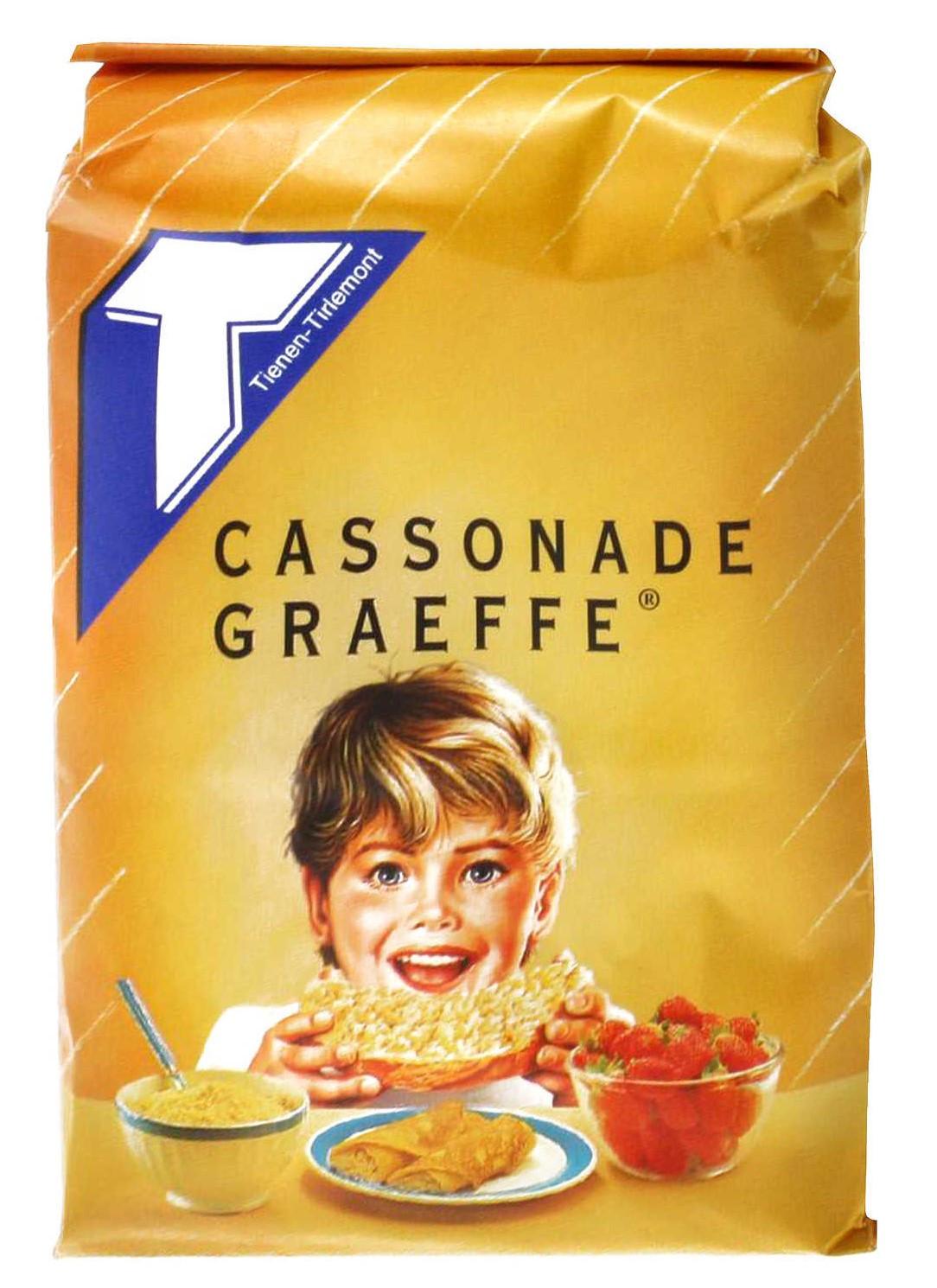 Sucre Cassonade Graeffe 1kg Tirlemont