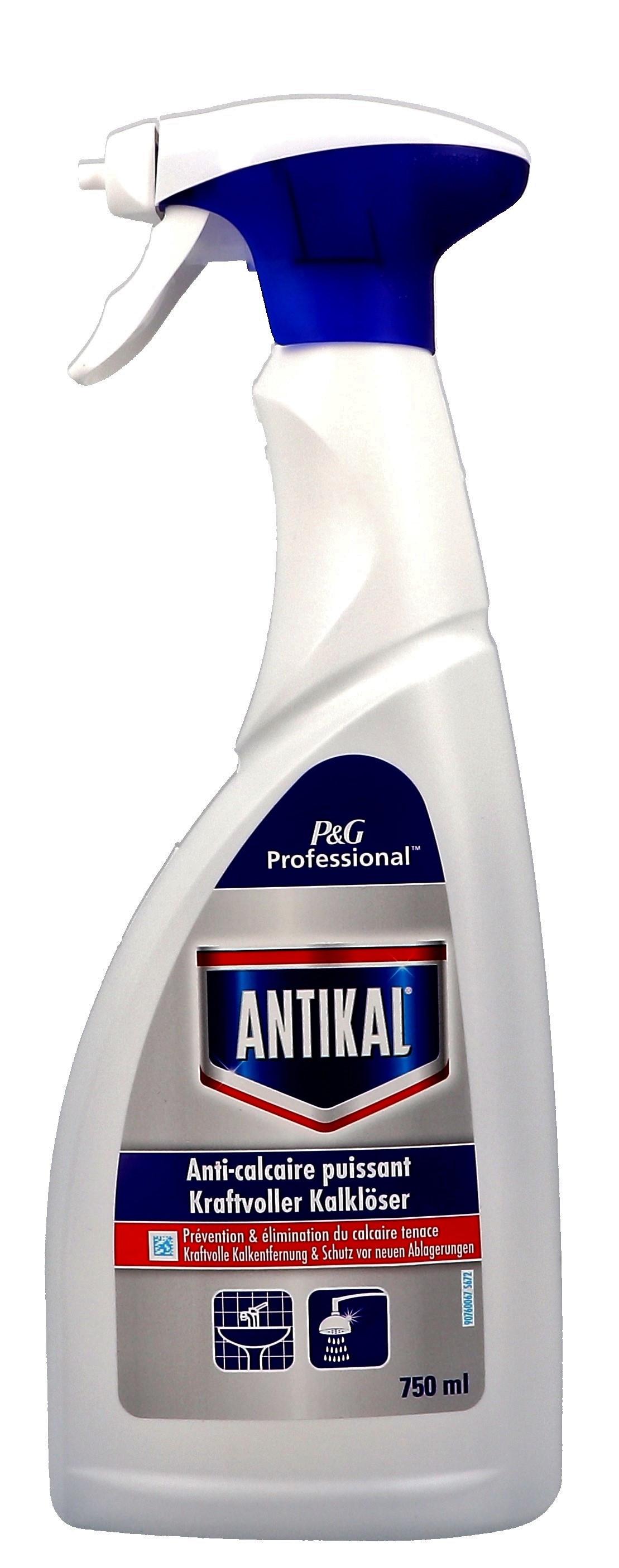 P&G Antikal nettoyant WC 750ml bouteille