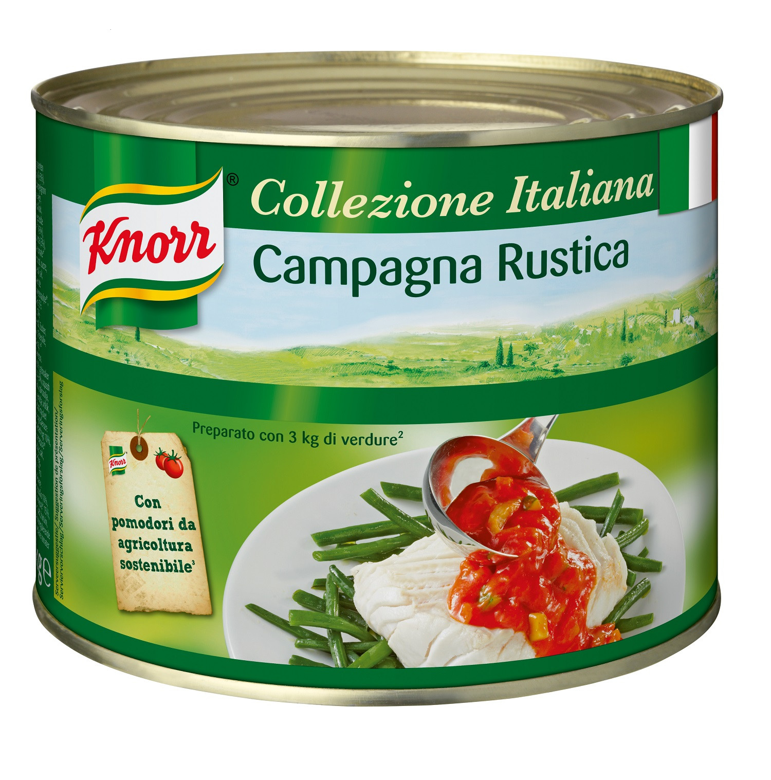Knorr campagnasaus 3l blik collezione italiana