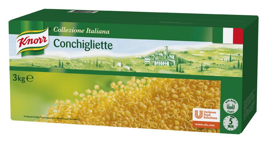 Knorr pates Conchigliette 3kg Collezione Italiana