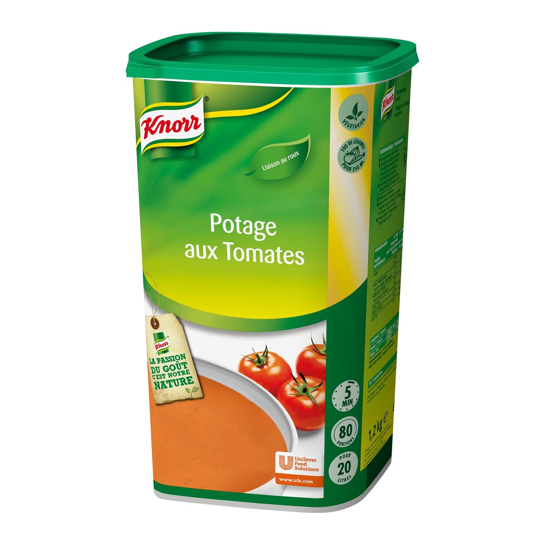 Knorr potage aux tomates 1.495kg Soup de tous les Jours