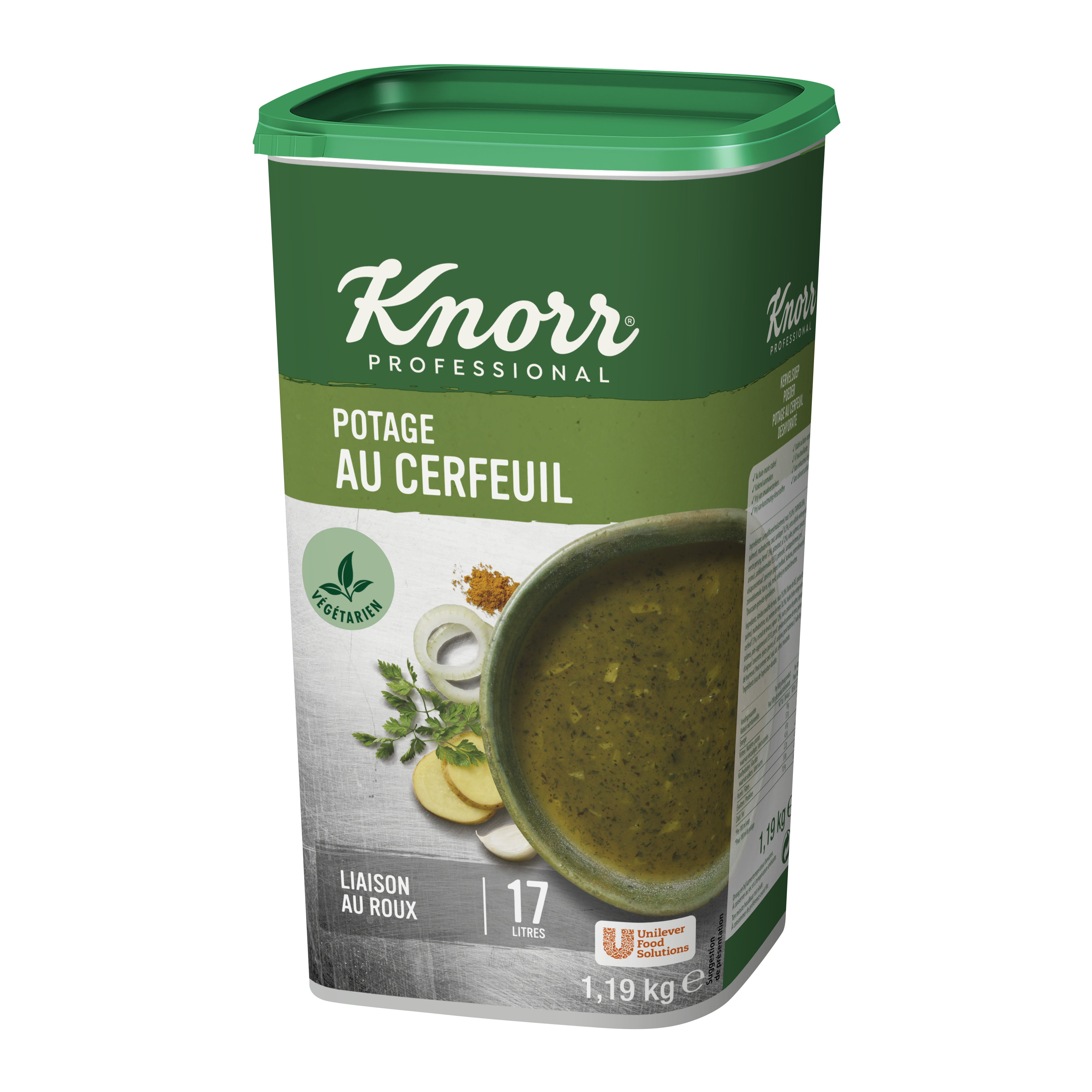 Knorr potage au cerfeuil 1.19kg Professional
