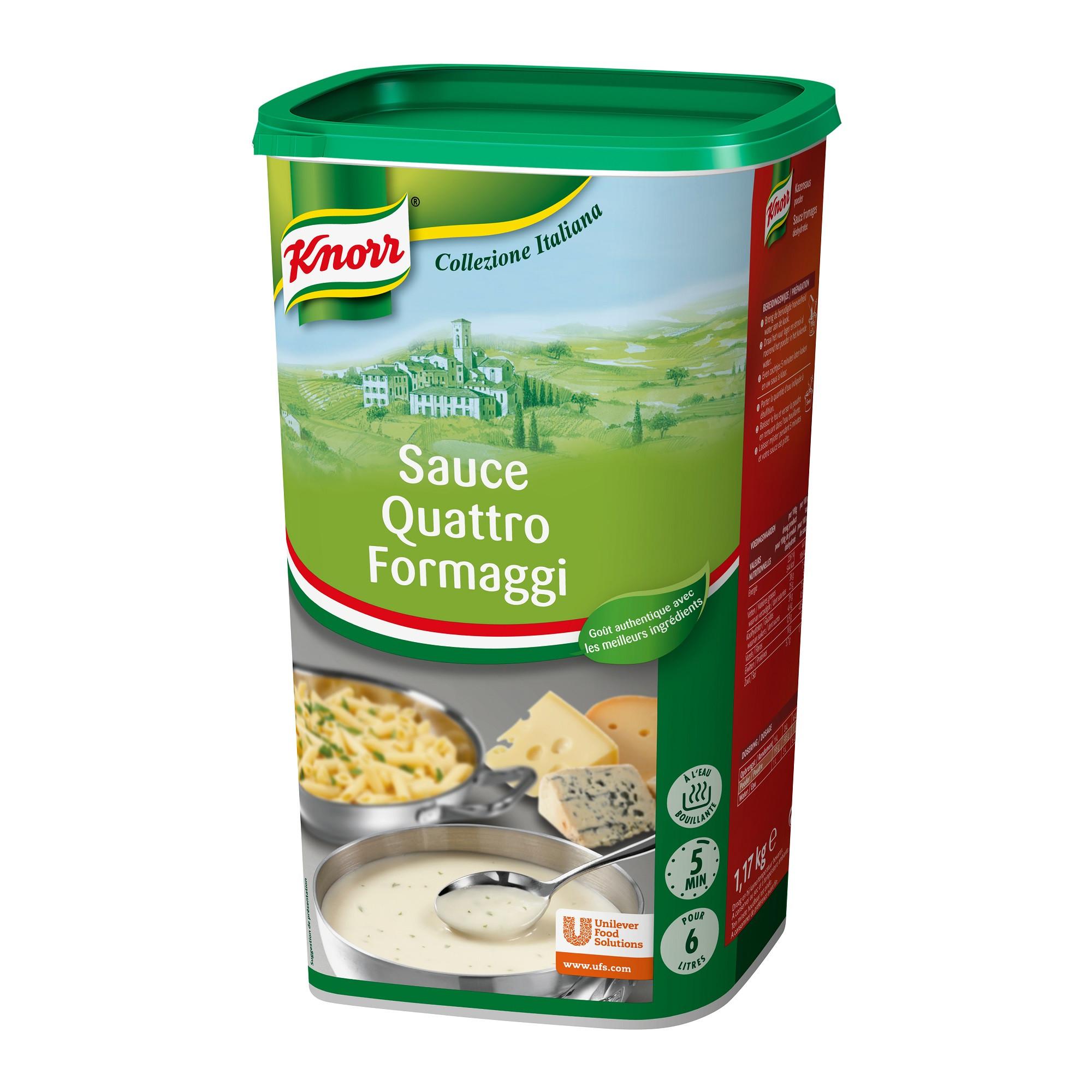 Quattro Formaggi sauce 1.17kg Knorr Collezione Italiano