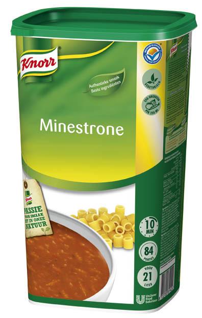 Knorr potage minestrone 1.37kg Soupe de tous les Jours