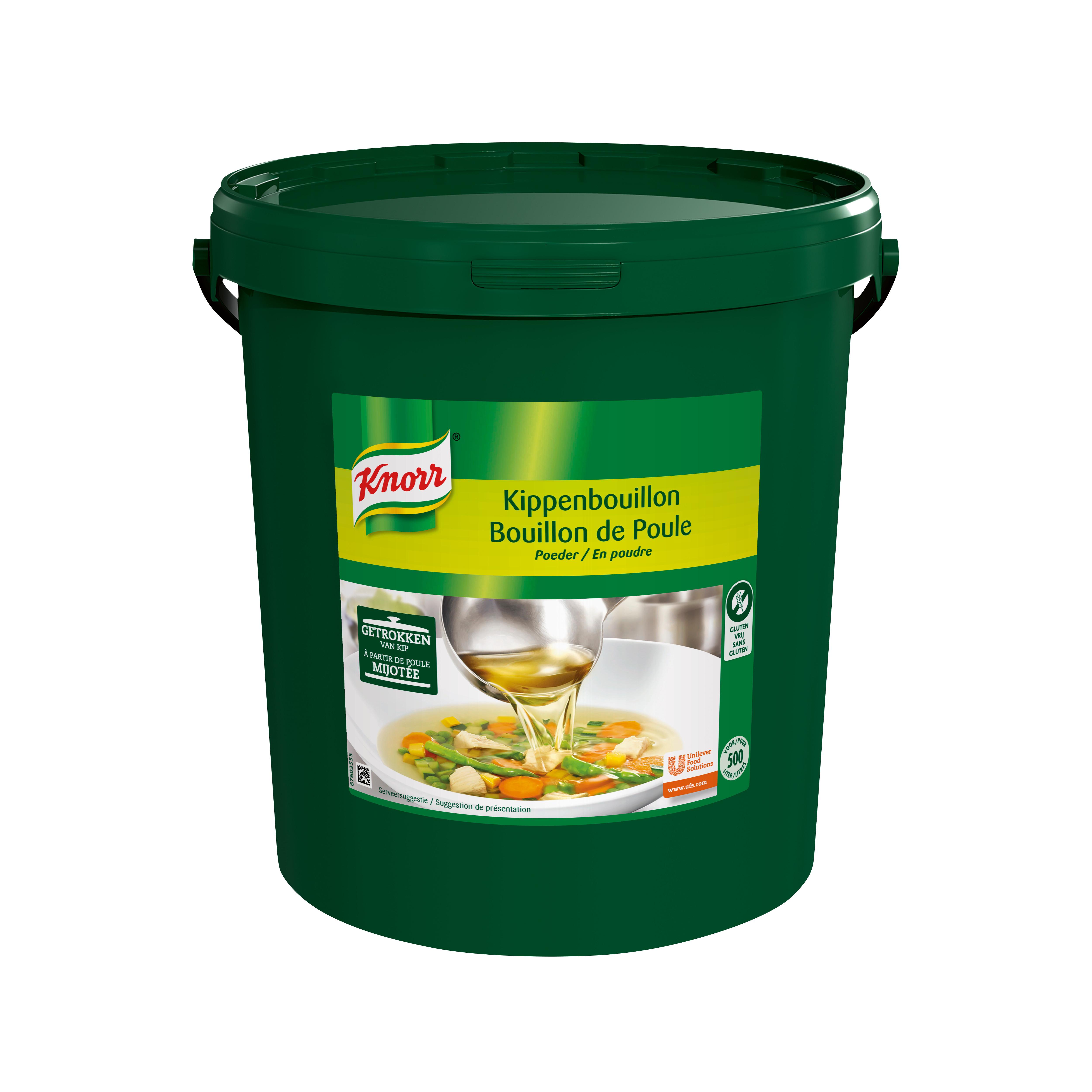 Knorr bouillon de poule en poudre 10kg seau