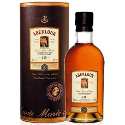 Aberlour 15 ans d'age 70cl 43% Highland Single Malt Whisky Ecosse
