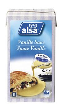 Alsa sauce vanille - creme anglaise 1L Tetra Brik