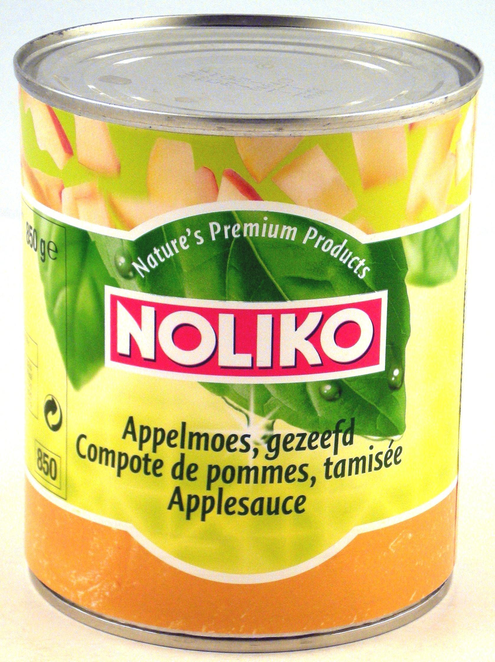 Noliko Compote de pommes tamisée 850gr boite 1L