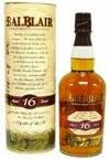 Balblair 16 Ans d'Age 70cl 40% Highland Single Malt Whisky Ecosse