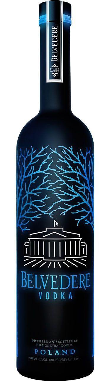 Vodka Belvedere Midnight Saber 1.75L 40%