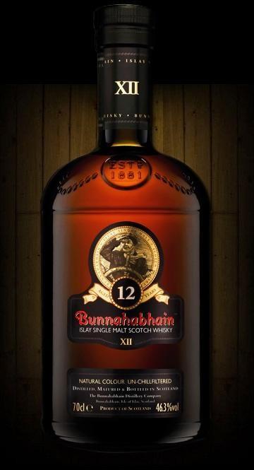 Bunnahabhain 12 Ans d'Age 70cl 43% Islay Single Malt Whisky Ecosse